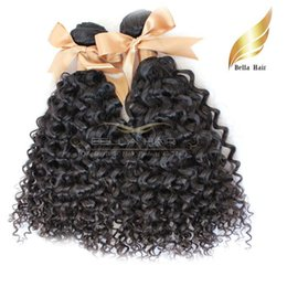 Brazilianhair Extensions Virgin Human Hair Bundles Kinky Curly Wave Hair Weave Extensions Drop Shipping Bellahair