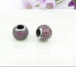Wholesale FASHION Authentic Sterling Charm Beads European Beads Fit Bracelet Bangle Necklace Pandora Snake Chain DIY Jewelry