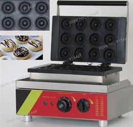 Wholesale Commercial Non stick V V Electric Mini Doughnut Donut Machine Maker Iron Baker