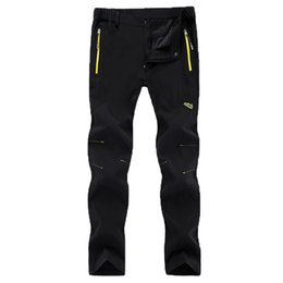 Wholesale Men Quick Drying Pants Outdoor Sports Breathable Pants Plus Size XL Hiking Camping Trekking Thin Trousers Windproof Pants RM130