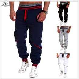 Wholesale New Baby Men Leisure Style Tights Sports Pants Pants Crotch Jogging Pants Mens Jogger Sarouel Down GYM Pants