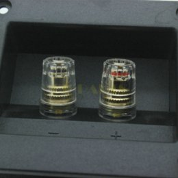 Wholesale 2PCS mm Audio Speaker Terminal Cabinet Binding Post Connector Box Cup Board Connectors Cheap Connectors