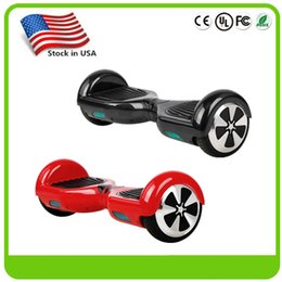 Wholesale Stock in USA Balance Wheel Electric Hover Board Smart Self Balancing Scooter inch Two Wheels without Bluetooth Skateboard Drop Shipping