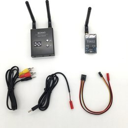 Wholesale Newest Ch G Wireless AV Transmitter TS832 Receiver RD945 Dual Receiver for FPV Car Video wifi Rearview System for aircraft