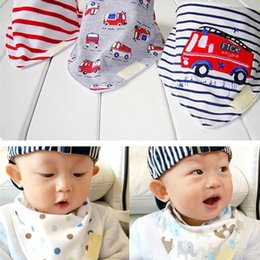 3pcs set Kids Infant Newborn Baby Bandana Bibs Towel Saliva Towel Burp Cloths Cotton Cartoon Animal styles