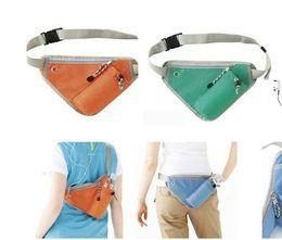 Outdoor Shoulder Bags Cross Body Sports Mountaineering Bag Bottle Phone MP3 Storage Travel Waist Purse Waistpacks