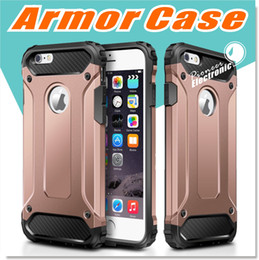 Wholesale iPhone s Case Hybrid Dual Layer Armor Protective Back Case Shockproof Cover for iPhone Plus Heavy Duty Slim Hard Shell Protection