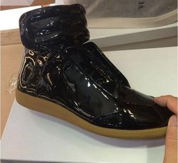Wholesale 2016 New Hot MARTIN MARGIELA Best Quality Men Fashion Casual Shoes High top Sneakers Size Manufacturers Supply