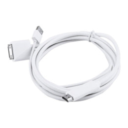 Wholesale 1pc Dock to HDMI HDTV TV ADAPTER USB CABLE for Apple for iPhone S for iPad for iPod Newest