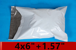 Wholesale White Mailing Bags x inch x153mm self seal Poly mailer bag Plastic express envelope courier bag