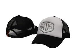 New Deus Ex Machina Baylands Trucker Snapback Men Women Mesh Sports Hat Hiphop Golf Cap Black White DDMY