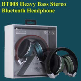 BT008 4.1 Stereo Headphone Noise canceling Headset with Mic High Bass Quality Wireless Bluetooth headset EAR192