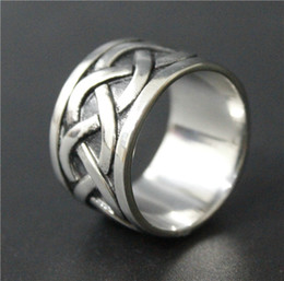 Size 8-14 Mens 316L Stainless Steel Jewelry Silver Band Ring Simple Style Biker Ring