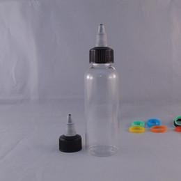 New E liquid PET Bottles 100ml Transparent Pen Shape Unicorn Bottles E juice Plastic Dropper Bottles Childproof Twist Off Caps Free Shipping