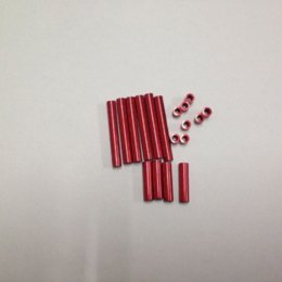 Wholesale Frame Hardware Aluminum Post Parts For mm Pro Mini Quadcopter Red parts cylinder parts counter