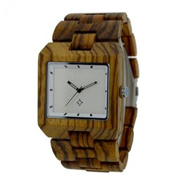 Wholesale Fashion Hot Sale real Wooden Watch High Quality Wristwatches Quartz Movement Wood Watch For Women and mens