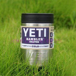 Wholesale 12 oz Yeti Rambler Tumbler Stainless Steel mugs Cooling Cups Vacuum Coke Cans New Fund Sell Like Hot Cakes