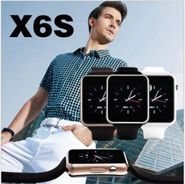 Wholesale Smart Watch X6s MTK6260 IPS D ARC TP Support SIM Card MAH M M Support GB TF Card Hot sale