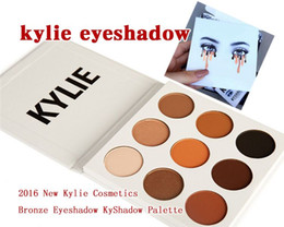 Wholesale pre sale Kylie Eyeshadow Cosmetics Jenner Kyshadow pressed powder eye shadow Kit Palette Bronze Preorder Cosmetic