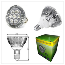 DHL FREE SHIPPING Dimmable Led bulb par38 par30 par20 85-240V 5W 7W 15W 21W 45W E27 par 20 30 38 LED Lighting Spot Lamp light downlight