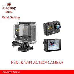 Wholesale best Gopro Style SJ9000 EKEN H3R K Action Camera Dual Screen Remote Control Wifi P FPS MP M waterproof Sport DV Cam