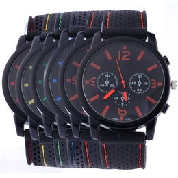 Fashion Man Sport Watch Casual PU Leather Band Round Dial Dress Watch Creative Big Dial Analog Quartz Luxury Watch For Man
