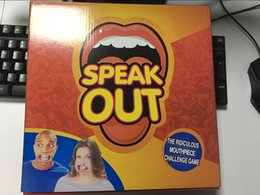 Wholesale New Arrival Speak Out Games Ridiculous Mouthpiece Challenge Game game for your mouthpiece discount Price drop shipping