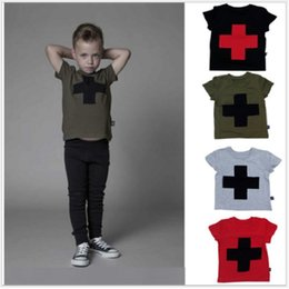 bobo choses Casual Baby Boys T-Shirts Cross Summer Children Clothing Girls Tees Shirts Kids Sport Clothes mini rodini Wholesale