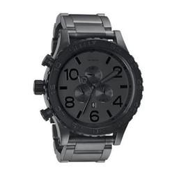 Free Shipping NX Men's A083-1062 Quartz Watches THE 51-30 CHRONO Matte Black CHRONOGRAPH