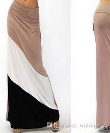 Длинные юбки и платья оптом