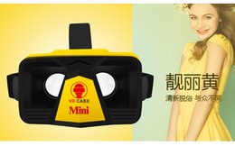 Wholesale Smart glasses Gamepad VR case mini Virtual Reality glasses for inch Android and IOS cell Phone