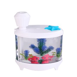 Wholesale best selling fish tank humidifier house fish tank for fun winter dry air ajust tank good quality portable humidifier desk purifier