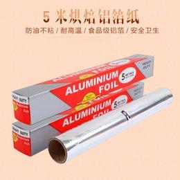 Wholesale Barbecue barbecue barbecue baking tools foil tin foil aluminum foil paper household oven factory direct supply