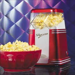 Wholesale Nostalgia Electrics Series Mini Hot Air Popcorn machine for home use best gift for children v machine new machin