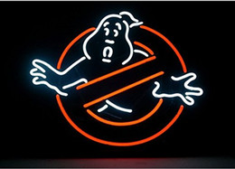 Ghostbusters Real Glass Neon Light Sign Home Beer Bar Pub Recreation Room Game Room Windows Garage Wall Sign
