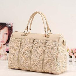 2016 New Women Lady Retro Lace Designer PU (Faux) Leather Women's Handbag Tote Crossbody Shoulder Bags Small H10516