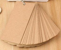 Craft 100 * 50mm / papier New Creative Vintage Kraft MiNi Card / Bloc-notes / message Post / écriture bloc-notes craft notepad for sale à partir de craft bloc-notes fournisseurs