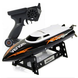 Wholesale UDI Toys Super G High Speed RC Boat Electric Motorboat CH Model can Righting Remote Control RC Speedboat