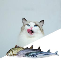 Cat Mint Fish Teapot Toy Simulation Plush Cat Mint Fish Cat Pillow Pet Supplies Wholesale