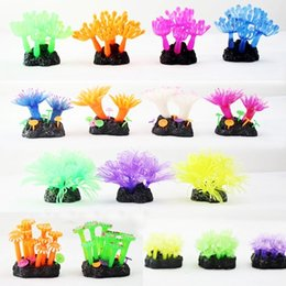 Wholesale Price High Quality Soft Artificial Vivid Resin Coral Aquarium Aquatic Fish Tank Decoration Ornament Simulated sea urchin