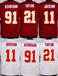 Wholesale 2016 Elite Mens Jerseys DeSean Jackson Sean Taylor Ryan Kerrigan Alfred Morris Kirk Cousins Stitched Free Drop Shipping