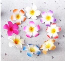 Wholesale Party Supplies Table Decorations Plumeria Hawaiian Foam Frangipani Flower For Wedding Party Decoration Romance HOT