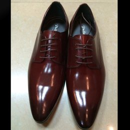 Wholesale New Arrival Brand Men Dress Shoes Best Quality Genuine Leather Man Oxfords Luxury Italian Stylish Formal Businss Wedding Shoes