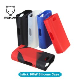 Wholesale Istick W Silicone Case Colorful Silicon Gel Skin Rubber Sleeve Protective Cover for Istick Watt TC mod bag