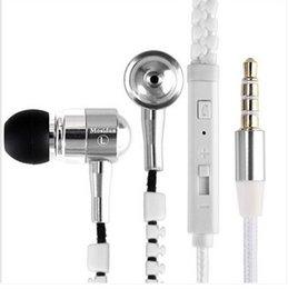 Wholesale Dual driver super bass metal headphones earphone Customized earphone with tube packing
