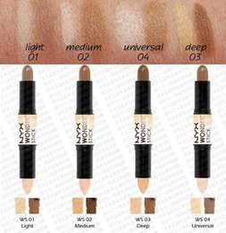 Wholesale NYX Wonder Stick Concealer Eye Face Makeup Cover Women Med Tan Highligher Colors