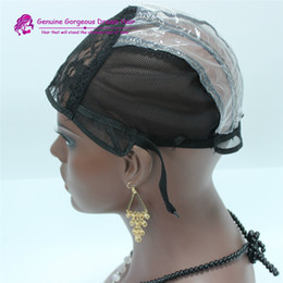 Wig Caps For Making Wigs adjustable straps back swiss lace full front lace wig cap 5pcs lot wig weave net hair extension