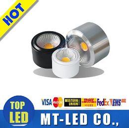 Wholesale manufacturers COB LED ultrathin downlight Open installed W W W W W W v light barrel ceiling lamp