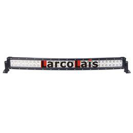 Wholesale 33 quot Inch W Curved Epistar LED Light Bar for Work Driving Boat Car Truck x4 SUV ATV Off Road Fog Lamp v v