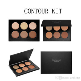 Wholesale 2016 New Carbonate Mud Mask New Makeup Face Ana CONTOUR KIT Bronzers Highlighters DHL Free ship
